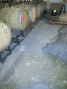 One of my barrels leaking golden sour this past summer